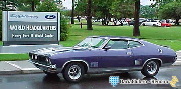 1973 ford falcon xb gt hardtop coupe for Garage ford saintes